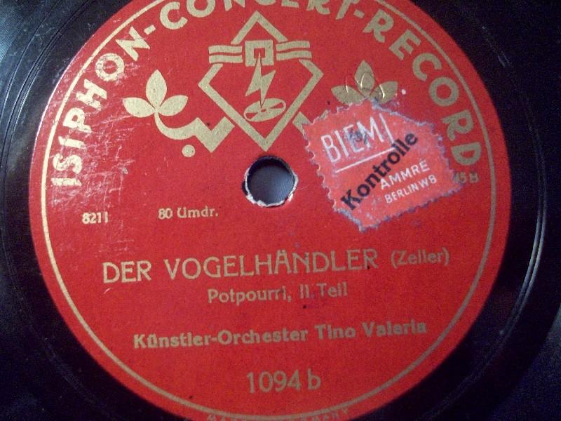 Künstler-Orchester Tino Valeria - Der Freischütz
