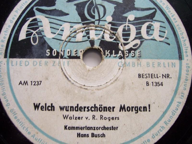 Tanzorchester Des Senders Leipzig - Kurt Henkels - Heut' Möcht' Ich Casanova Sein - Ja Das Küssen