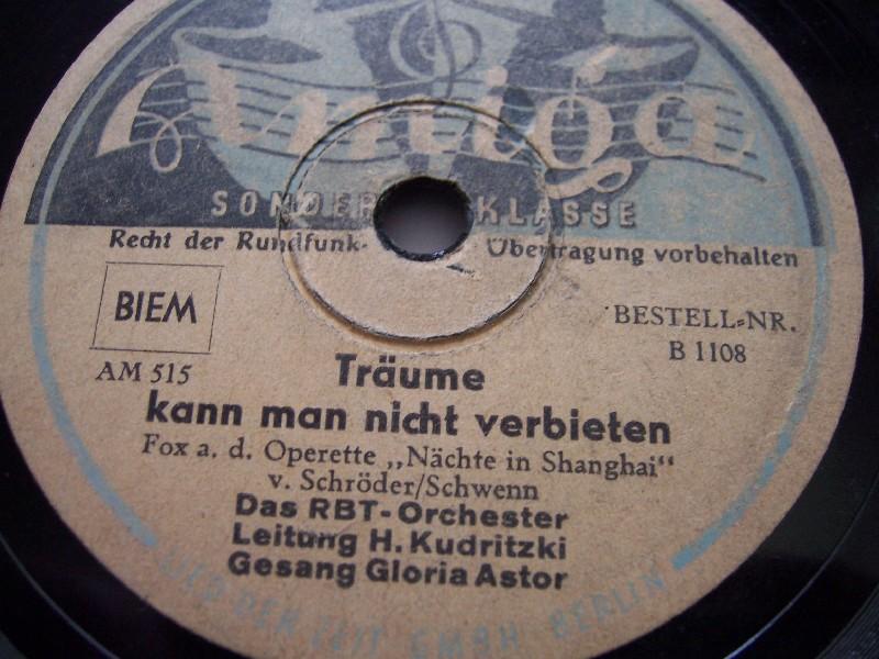 RBT Orchester Das RBT-Orchester Swing Time Memories - Neuaufnahmen 1991