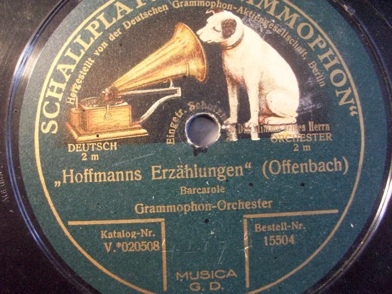 Grammophon-Orchester Dirigent: Obermusikmeister Adolf Becker - Bayrischer Avanciermarsch / Kärnthner Liedermarsch