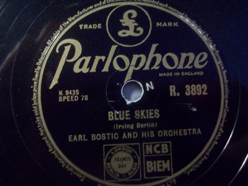Earl Bostic And His Orchestra - Away - Where Or When
